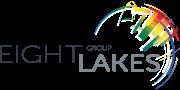 logo 8lakes